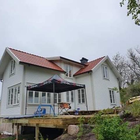 renovering och tillbyggnad på blidö